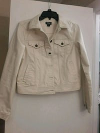 white button-up jacket Arlington, 22204
