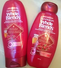 Garnier Whole Blends shampoo and conditioner