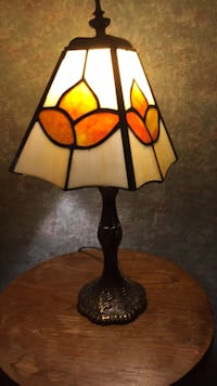 Stained glass table lamp Denver, 28037