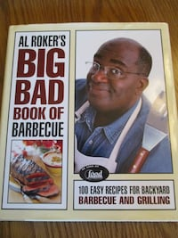 Al Rokers Barbecue Hardcover Book Aberdeen, 21001