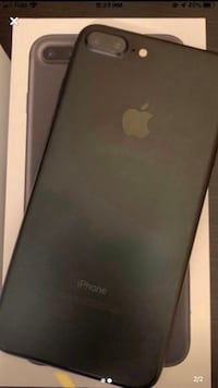 iPhone 7plus black 32gb Calgary