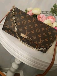 brown and black Louis Vuitton monogram leather crossbody bag Saint-Eustache, J7R 6C9