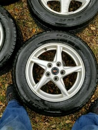 4 tires and rims and a full size spare 225/60 r16  Longmont, 80503