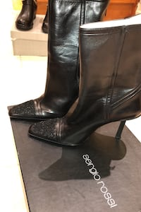 Leather Boot Vaughan, L4H 2W3