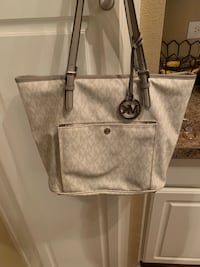 gray and black leather tote bag Sandy Springs, 30328
