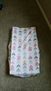 Mint and Pink Changing Pad Cover Brighton, 80602