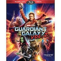 Unopened Guardians of the Galaxy Vol 2 Blu-Ray, DVD, and Digital Copy NASHVILLE