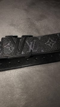 All black brand new Louis Vuitton belt  Markham, L3S