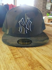 Yankees Camo New Era Fitted Pro Hat 45 km
