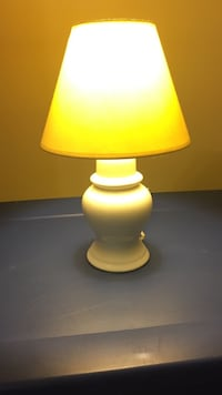 white and yellow table lamp Rowland Heights, 91748