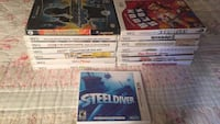 Wii games and one GameCube and one 3 ds  Hopewell Junction, 12533