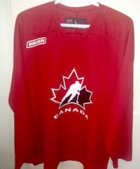 Bauer Team Canada Practice Jersey Size Large 539 km
