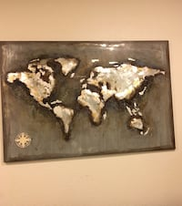 Brown and black abstract painting Loveland, 80538