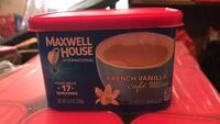 Maxwell house instant French vanilla coffee Avondale, 85323