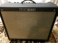 black and gray Fender guitar amplifier Olney, 20832