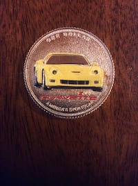 one dollar corvette coin District Heights, 20747