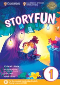Storyfun for Starters Level 1 Student's Book with  Şişli