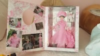 Barbie as Eliza Doolittle in My Fair Lady. Pink Outfit Waldorf