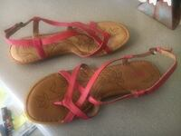 Red sandals Lemoore, 93245