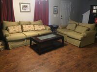 brown and black living room set Piedmont, 29673