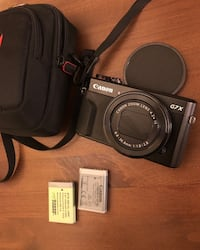 Canon G7X ii with extras