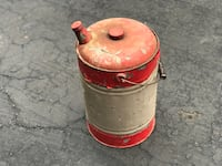 Vintage gas can Hilliard, 43026