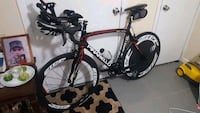black and red road bike Queens, 11413