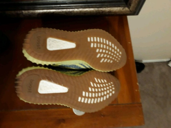 f6fd70b913bd3 Used Adidas Yeezy Boost 350 V2 Semi Frozen Yellow for sale in Euless ...