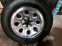 4 USED MICHELIN TIRES & RIMS 245 70 17  Hamilton, L8E 2W8