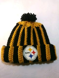 Pittsburgh Steelers wool knit cap youth Casselberry