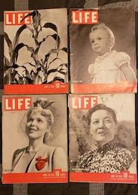 Life Magazines from 1937-1941 Catonsville, 21228