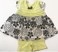 Cutie Pie Baby Girl 2 piece set 6-9 M Girl Clothes Used Los Angeles, 91606