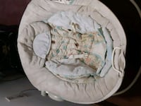 baby's white and gray bouncer Markham, L3S 2R1
