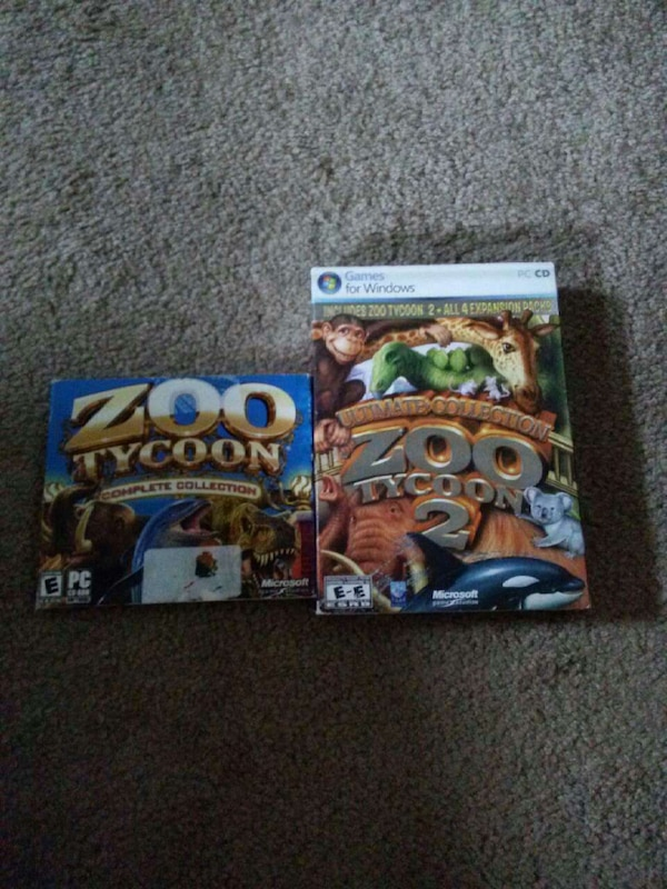 Zoo Tycoon 1 & 2 complete collection