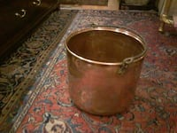 Vintage copper coal/log pail Toronto, M6P 3K9