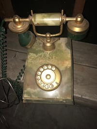 Onix telephone gold plated 18k Bellevue, 68123
