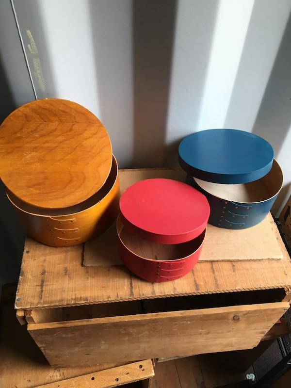 Used Wooden Hat Boxes For Sale In Whitman Letgo