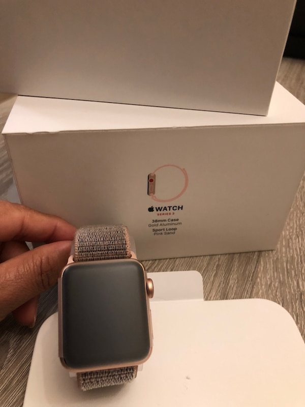 Iwatch series 3 38mm. New