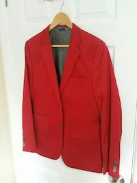 Flat red Le Chateau suit jacket
