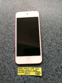 iPod touch 5th generation 16GB Barberton, 44203