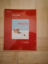 Study guide for use with principles of microeconomics