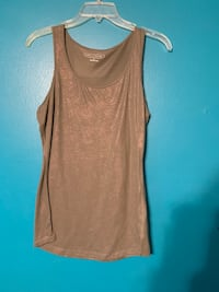 Green and gold sparkle tank top Tulsa, 74129