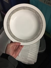 Vera Wang China NEW - 12 place settings. White and gold. Best offer takes it Washington, 20009