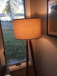 Pottery Barn Burlap Drum Lampshade large