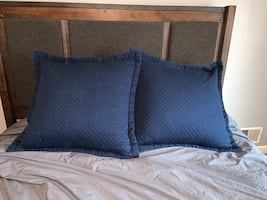 Large Quilted Headboard Cushions