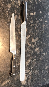 "Chef knives 2 Henckel Zwilling J.A. Henckels  12"" knife Vancouver, V6B"