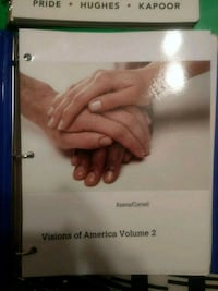 Visions of America Vol 2 College textbook Union Beach, 07735