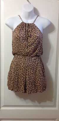 H & M Brown Romper: Size 4 or XXS Toronto, M6G