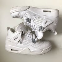 AIR JORDAN 4's GRADESCHOOL PURE MONEY's Edmonton, T5Z 3C5