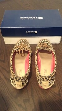 Sperry - Audrey Leopard Boat Shoes